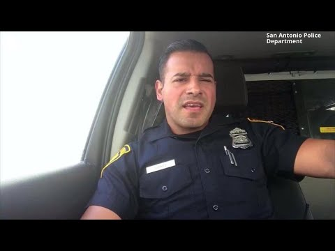 Texas law enforcement officers start viral lip-sync battle