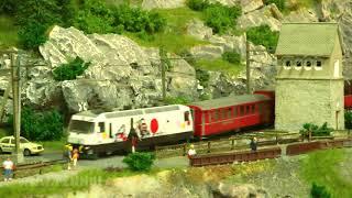 Die wunderbare Miniaturwelt der BEMO Modelleisenbahn - Vier faszinierende Schauanlagen in Spur H0m