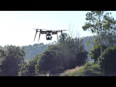 BIG Quadcopter at Ferny Grove