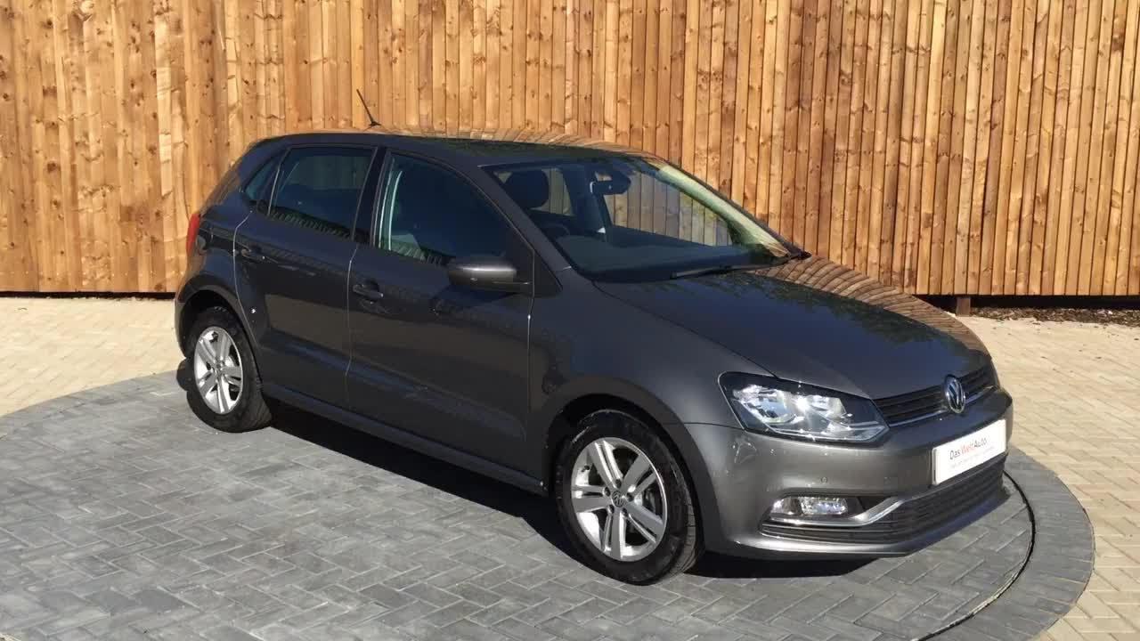 Volkswagen Polo Match Edition Tsi S A 5 Door Hatchback Grey