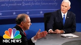 Interruptions And Insults: Top Moments Of The Vice Presidential Debate | NBC News