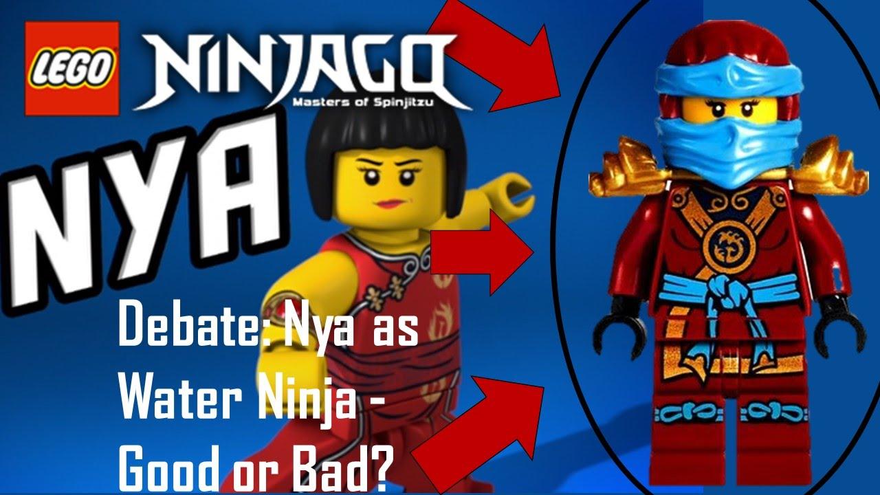 Lego Ninjago Movie: Nya's WATER STRIDER 70611 Animation ...   Ninjago Nya Water Ninja