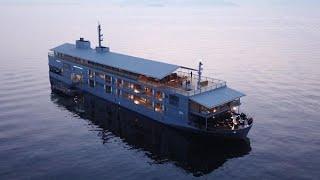 海に浮かぶ「高級宿」 瀬戸内の魅力発信