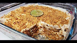 Easy Ice Box Cake Recipe   Recipe For Carlota De Limon   Mexican Ice Box Cake