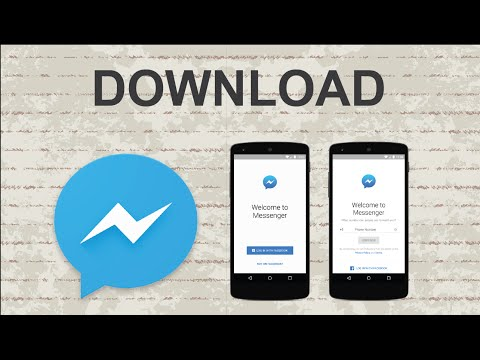 How To Download Facebook Messenger | Mobile App