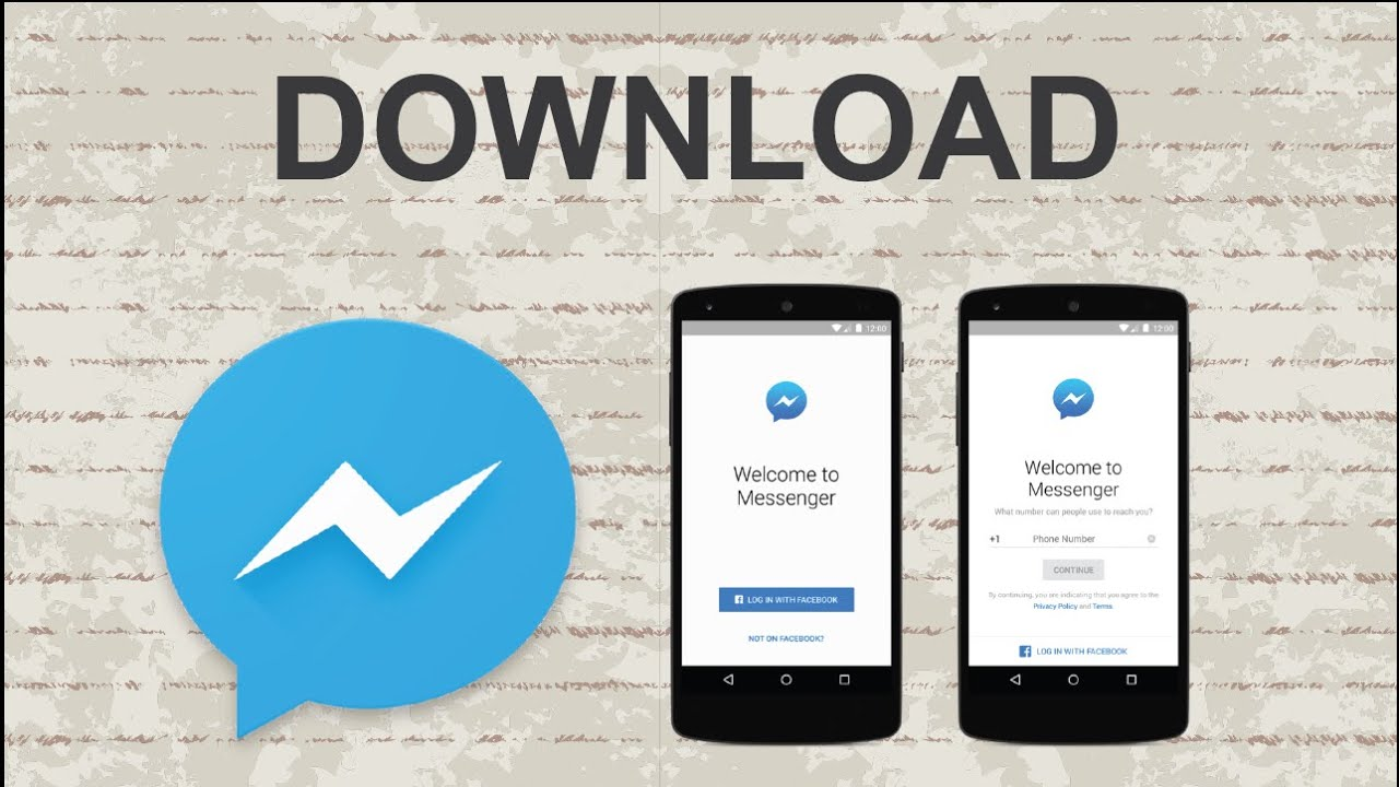 How to download facebook messenger mobile app youtube ccuart Images