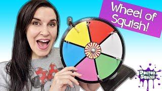 Wheel Of Squish LIVE Slime Mixing Bingo!