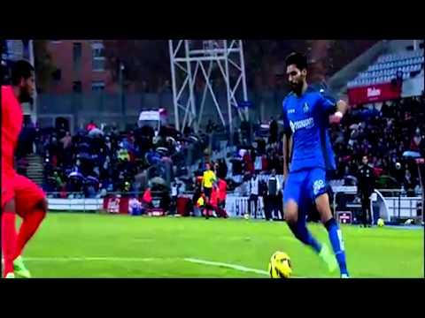 Uncalled penalty for Getafe Referee mistake Getafe vs Barcelona 0-0 thumbnail