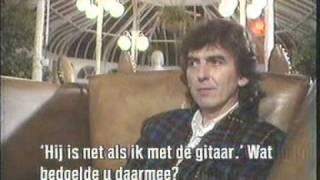 George Harrison on Dutch TV