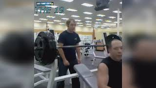 STUPID PEOPLE IN GYM FAIL COMPILATION