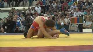 2012 Russian Freestyle Wrestling Championship 60kg Besik Kudukhov