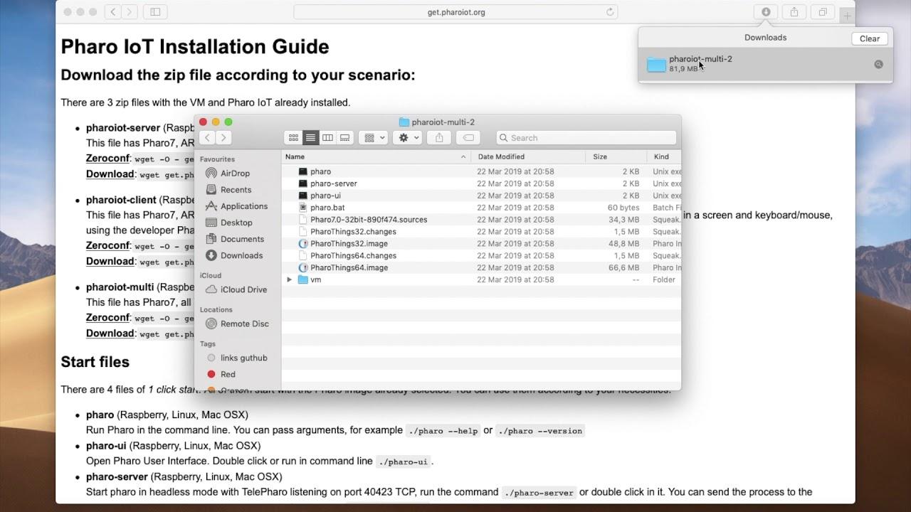 Pharo IoT Installation Guide