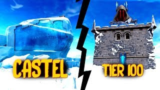 KEVIN? TIER 100 + CASTELUL ASCUNS! Fortnite