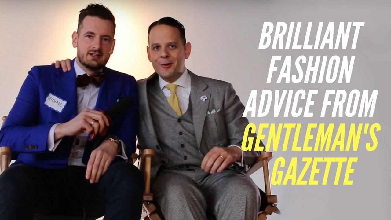 a792a0d4d5bf Brilliant Fashion Advice from Sven Raphael Schneider from Gentleman s  Gazette. Men s Fashion Trick