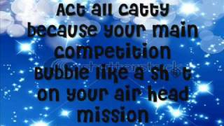 christina aguilera bobblehead lyrics