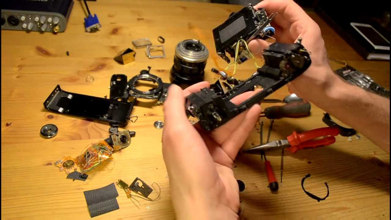 minolta x 300 slr camera disassembly youtube rh youtube com Camara Minolta X 700 Minolta X-700 with MD 1