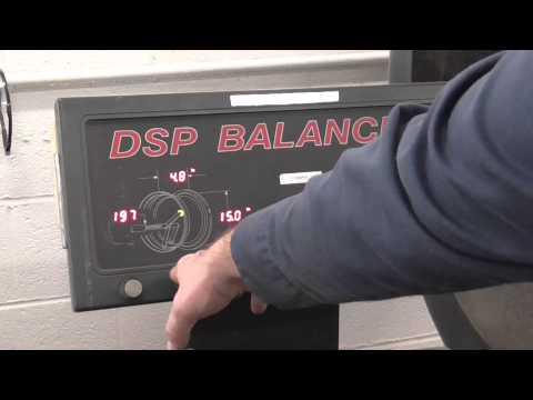 learn to use the hunter dsp 9500 wheel balancer youtube rh youtube com