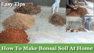 How To Make Bonsai Soil At Your Home | How To Make Bonsai Soil For Beginners | Bonsai Care