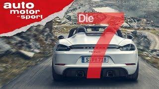 Endlich wieder Sechszylinder: 7 Fakten zu Porsche GT4 & Spyder (2019) | auto motor und sport