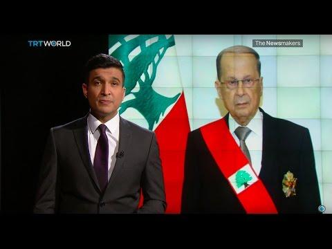 The Newsmakers: Lebanon's new president and Black lives matter