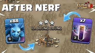 FINALLY DID IT ! 88 MINIONS AND 7 BAT SPELLS TH10 ATTACK AFTER BAT SPELL NERF  Clash of Clans - COC