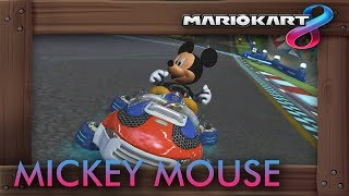 Mickey Mouse In Mario Kart 8