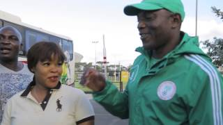 CHAN 2014: Nigeria v. Morocco Pre-game Interview with Stephen Keshi