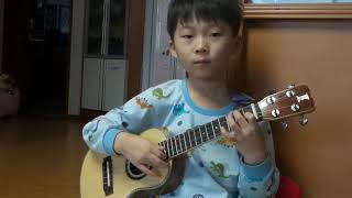 [6-year-old Sean Song] Night (Sean Song Composition by Sean Song)