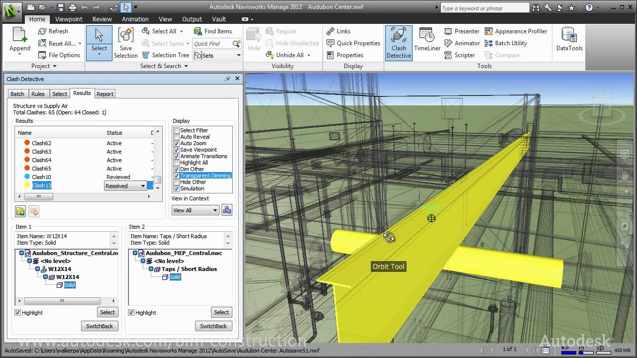 Autodesk Building Design Suite for Construction