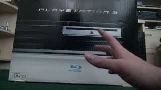 PlayStation 3 Unboxing (Launch Model)