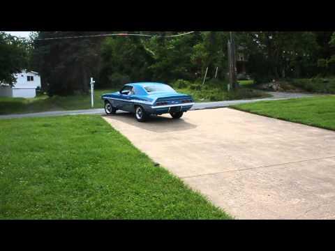 1969 Yenko Camaro exhaust sound!