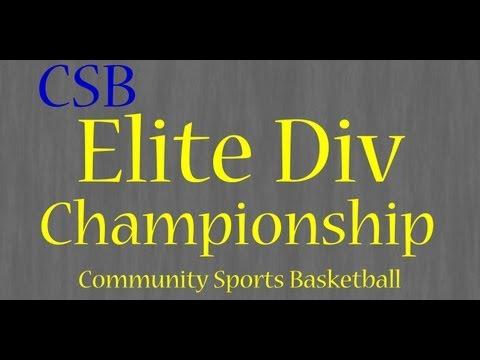 Elite Division Championship Game Uptempo vs Spartans