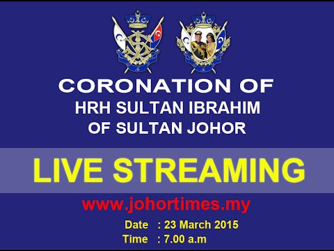 [Live] Coronation of Sultan Ibrahim Iskandar as the 5th Johor Sultan