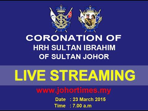 [Live] Coronation of Sultan Ibrahim Iskandar as the 5th Johor Sultan