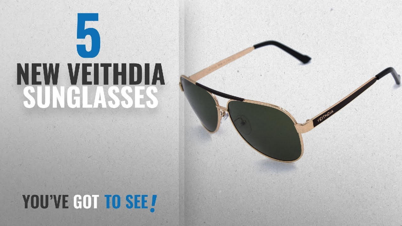 c1cd723c45 Top 10 Veithdia Sunglasses   Winter 2018    VEITHDIA 3152 High Grade ...