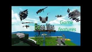 Base Wars: The Land - Las características del juego (Diseño/Demostración de Juegos de Roblox)
