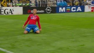 MÅL: Jordan Larsson placerar vackert in 1-0 mot AIK - TV4 Sport