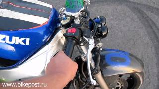 Езда на заднем колесе (шаг за шагом) - с ручки газа