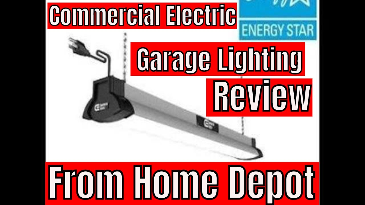 Commercial Electric Garage Lighting From Home Depot Youtube