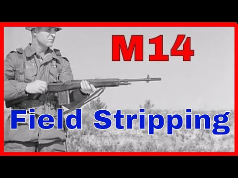 Tutorial: M14 Rifle Field Stripping, Mechanical Operation, & Component Parts