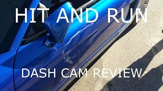 NSX hit and run! Caught the plate on my dash cam