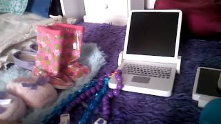 All Of My American Girl Doll Accessories !! :3