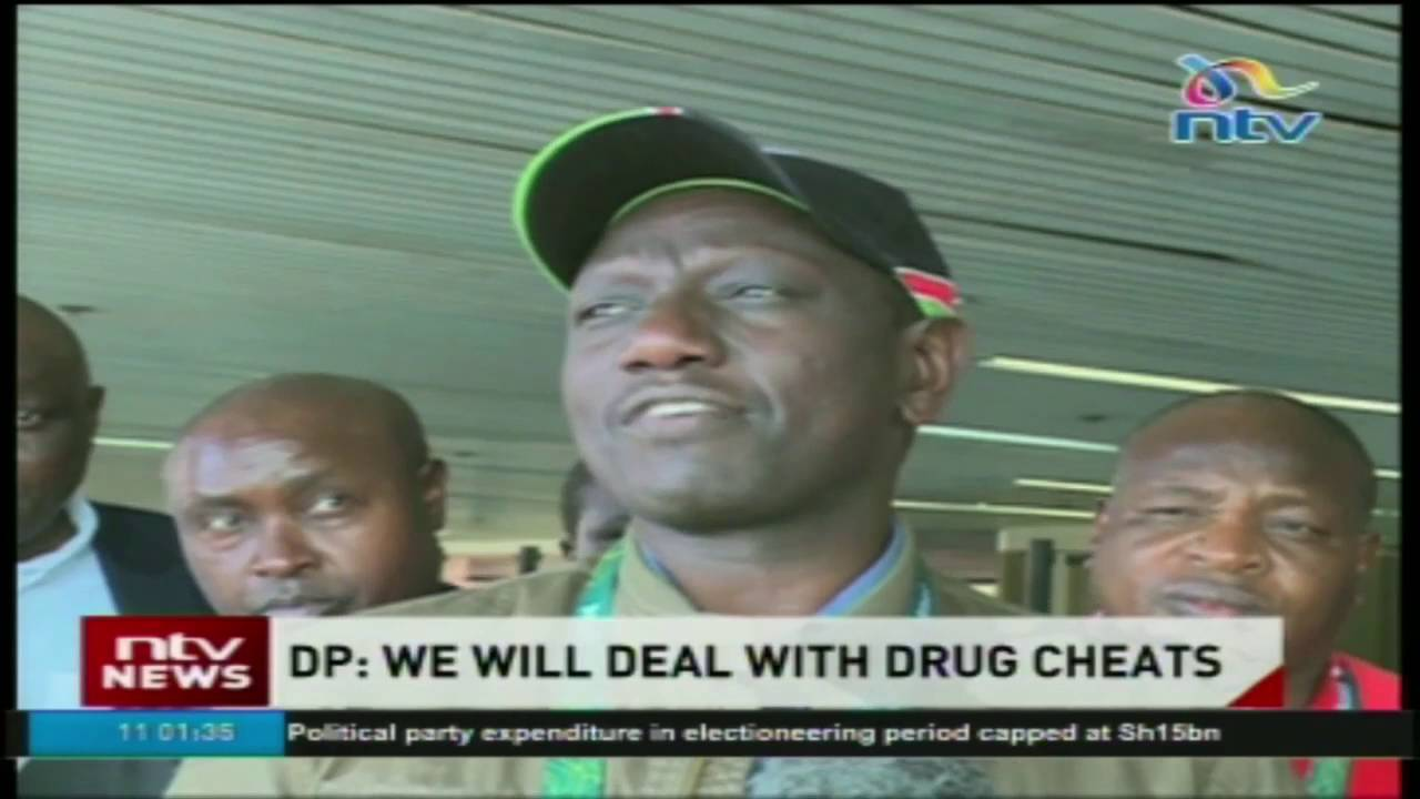 DP Ruto Says Government Will Deal With Doping Athletes