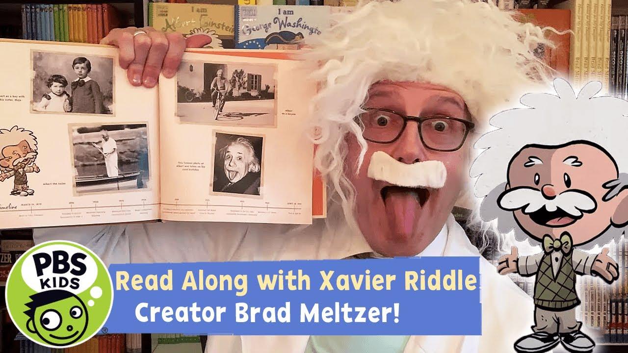 Xavier Riddle READ ALONG | I am Albert Einstein | PBS KIDS