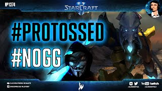 САМЫЙ ГРЯЗНЫЙ ВЫПУСК Секретного Агента: Безостановочные чизы и олл-ины за протосса в StarCraft II