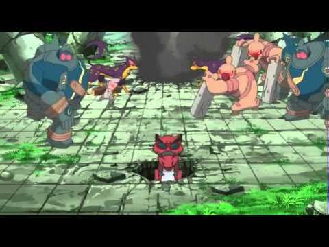 Pokemon Best Wishes Season 2 - Funny Krookodile Moment
