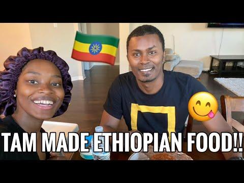VLOG | MAKING ETHIOPIAN FOOD!! | TAM IS COOKING !