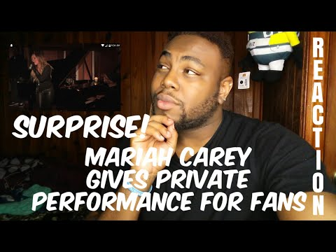 SURPRISE! Mariah Carey gives private performance for fans | REACTION