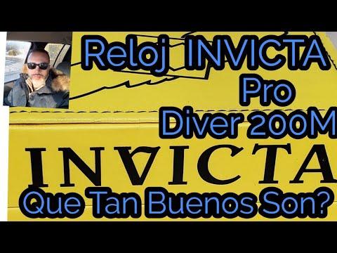 más fotos 7113f 919db Reloj Invicta Profesional Diver 200m Que Tan Buenos Son? Reseña (review)