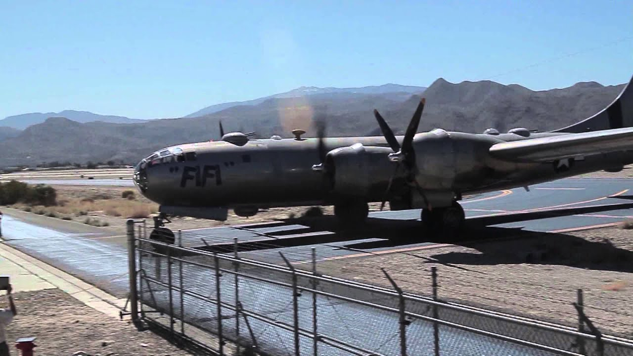 FiFi at the Palm Springs Air Museum - YouTube